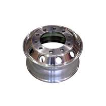 """Wheel Size: 19.5 x 7.50RW Part Number: 29685ANP  Polish Option (Typical Application): Machined Wheel Offset: 6.25"""" Disc: .875"""" Installed Valve: TR545D  Approx. Wt. (lbs): 38 Maximum Load & Infl. (lbs) - (psi): 6700 - 125"""