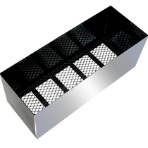 Stainless Steel Dress Plate for Mesh Bottom Basket, 18x18x48