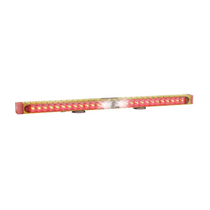 38in Helios Tow Light Bar, Yellow Diamond Plate
