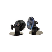 Suction cup kit provides a conversion from magnetic to suction cup base for tows requiring you to mount to a non magnetic surface. These fully adjustable suction cups provide a solid hold with their press-and-lock base.