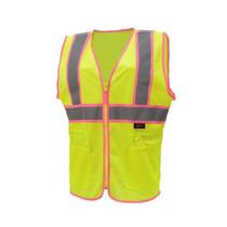 100% polyester material, 2 slash pockets, drawstring adjustable waste. Lime