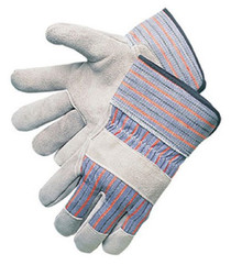 Work Gloves Leather Palm, XL