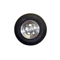 "Collins Dolly - Aluminum Mag Wheel 5 Lug Bolt Pattern w/ 5:70x8 ""C"" Range Tire"