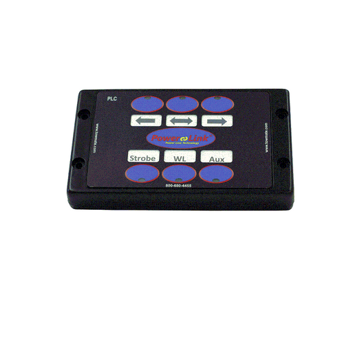 The Towmate PLC-TX6 6-button transmitter operates any Power-Link light and/or the PLC-RX 2-channel receivers, giving you ultimate control of the lighting on your recovery or emergency vehicle with minimal installation effort.