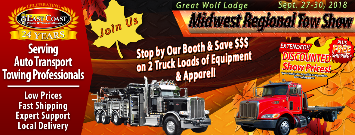 Discounted Prices on Tow Parts and Equipment