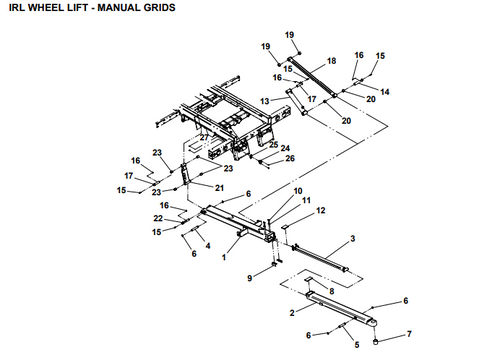 led light bar wiring diagram for truck jerr-dan replacement bed lock wear pad | 4.75in