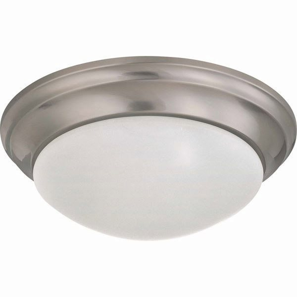 Fluorescent Flush Mount