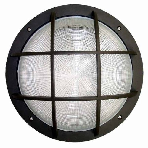 "15"" Round Grid Face Bulkhead Wall Pack"