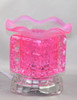 Cube Glass Electric Oil Burner - Pink