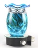 Electric Oil Warmers and Oil Burners Style Melt Blue Plug In
