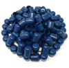 """100 pk. Non-Marring Plastic Foot Cap Glides for Metal and Padded Folding Chairs, Fits 7/8"""" OD Tube"""
