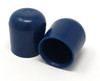 "Individual Pieces - Non-Marring Plastic Foot Cap Glides for Metal and Padded Folding Chairs, Fits 7/8"" OD Tube"
