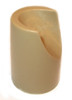 """Beige Stability Cap for 7/8"""" Folding Chairs"""