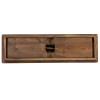 "40"" x 12"" Hercules Antique Rustic Solid Pine Folding Farm Bench"
