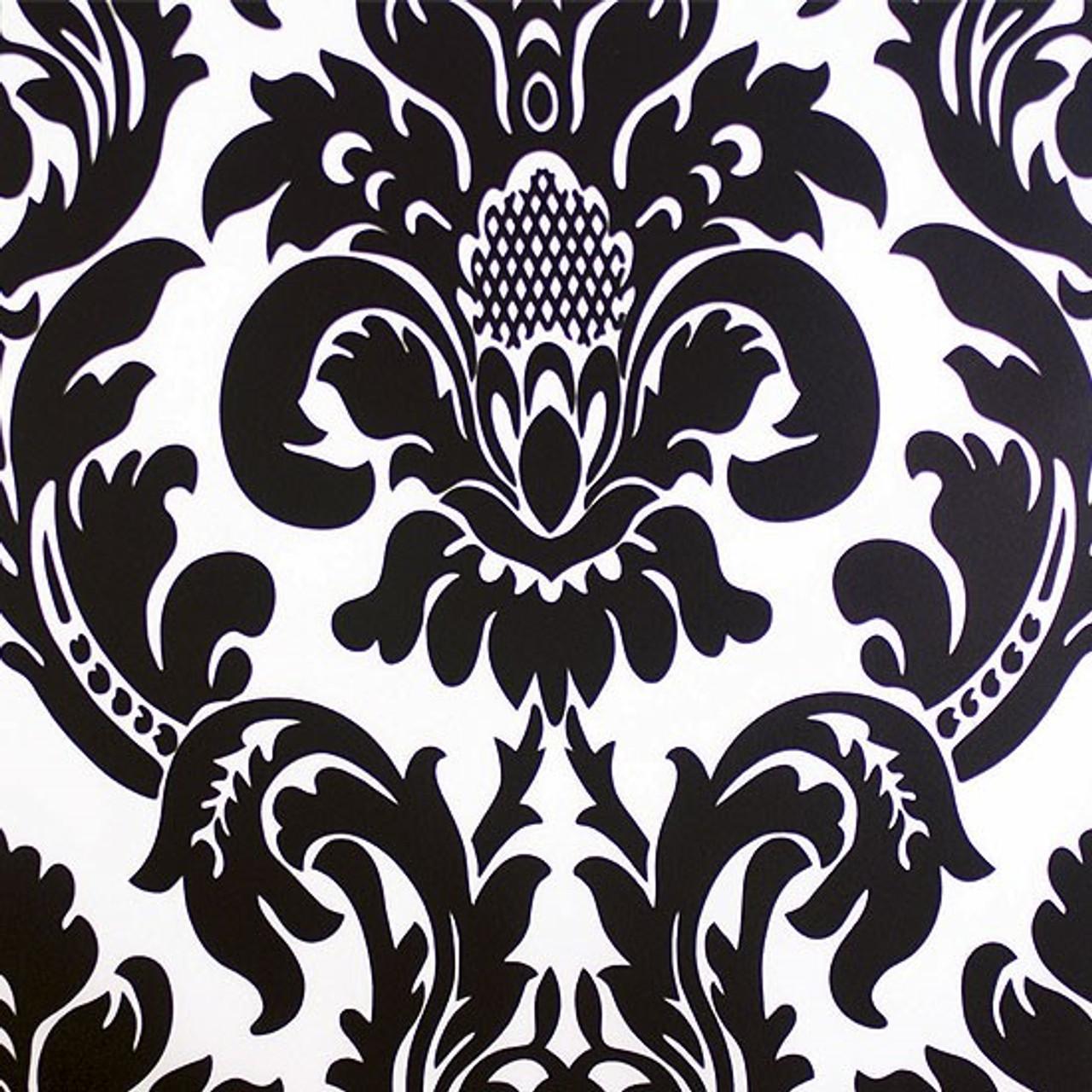 alterio black white damask chiavari chair cushion cover