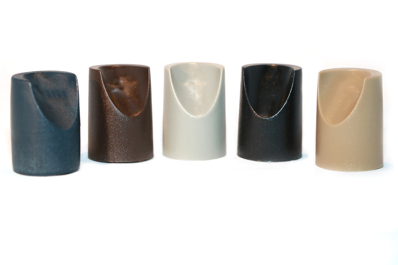 Individual Pieces Plastic Stability Caps For Metal And
