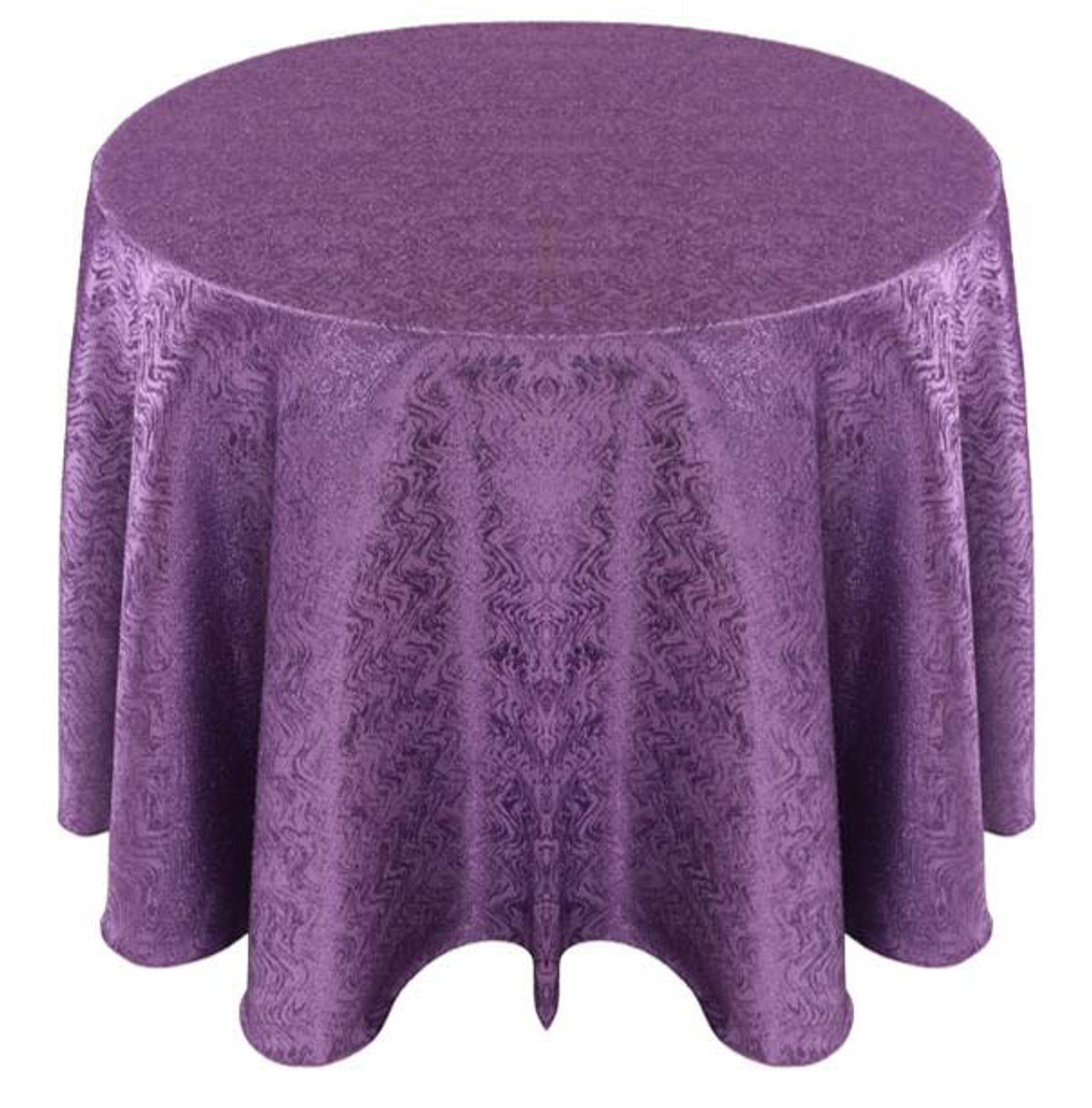 ... Cabaret Taffeta Tablecloth Linen Purple ...