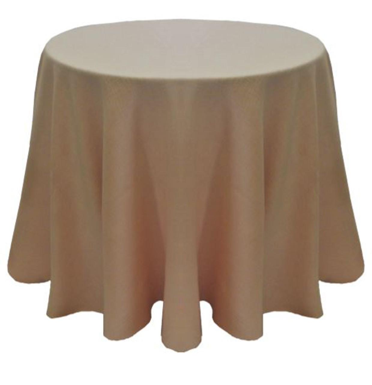 Merveilleux ... Panama Rustic Textured Tablecloth Linen Light Pink ...