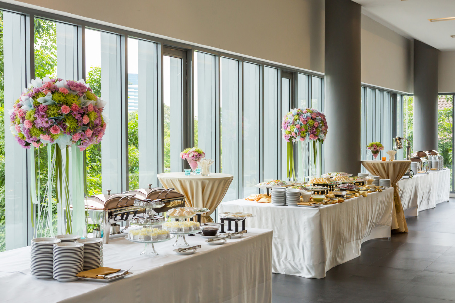 How to arrange your buffet area foldingchairsandtables how to arrange your buffet area watchthetrailerfo