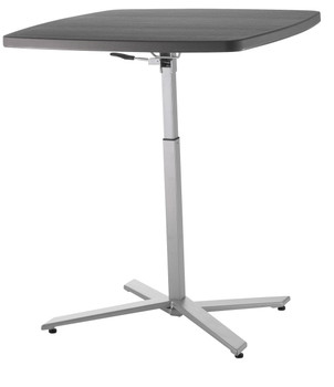 "Cafe Time 36"" Square Adjustable Table By National Public Seating"