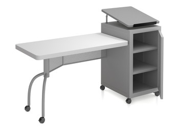 Edupod Lectern and Teacher's Desk Combo By Oklahoma Sound