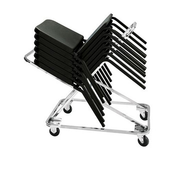 20-Capacity Stack Chair Dolly For 8200 Series Music Chairs By National Public Seating