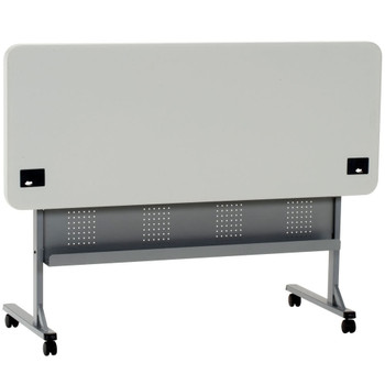 Body Builder Plastic Flip and Store Seminar Training Table By National Public Seating