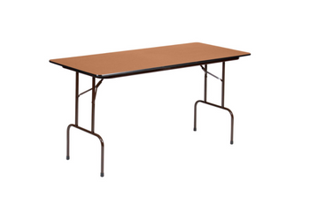 Correll Solid Plywood Core High Pressure Laminate Folding Table (CL-PCP)