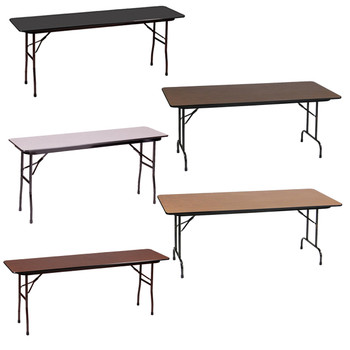 Correll  Melamine Laminate Folding Tables-USA Made