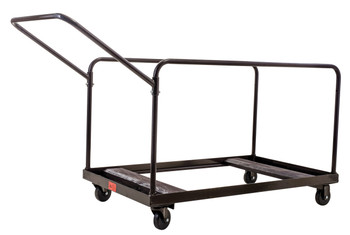 10-Capacity Edge Stack Folding Table Storage Dolly With Angled Handle By National Public Seating, Model DYMU (DYMU)