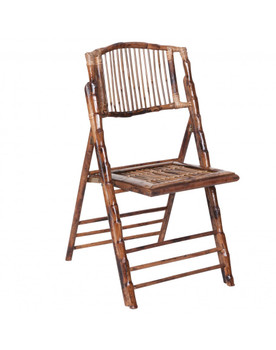 Premier Bamboo Wooden Folding Chairs