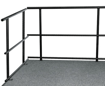 Guard Rails For Portable Performance Stages