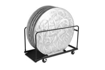 """48""""Round GHD Storage Cart for Aluminum Tables"""