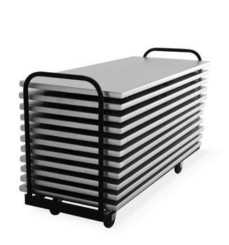 Flat Loading Storage Cart for 6ft & 8ft  Aluminum Tables