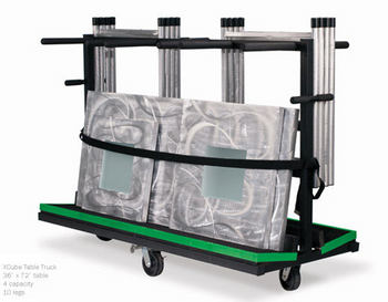Aluminum XCube Storage Cart