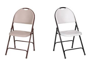 (4-PACK) Correll RC350 R Series Heavy Duty Blow Molded Plastic Chairs