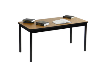 "Correll Library Table with High Pressure Laminate Tops 29"" Height-USA Made (CL-LR)"