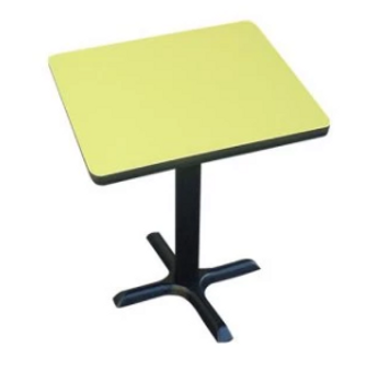 Correll Cafe' & Breakroom Square Tables-High Pressure Laminate-USA Made