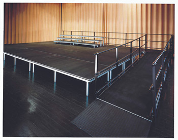Alulite Stage Ramp for  Aluminum Stage Decks