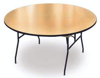 ProRent Plywood Round Folding Table-USA Made (MC-PR-ROUND)