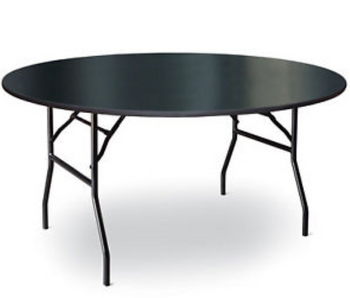 High Pressure Laminate Round Folding Table-USA Made