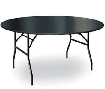 High Pressure Laminate Round Folding Table-USA Made (MC-LAM-ROUND)