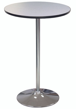 High Pressure Laminate Pedestal Cocktail Table-USA Made (MC-LAM-PEDESTAL)