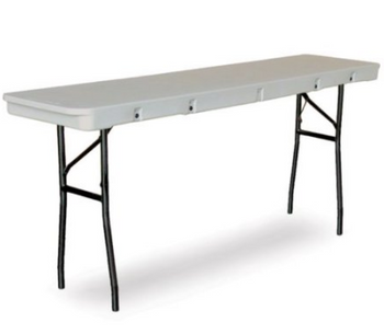 Commercialite Seminar Plastic Folding Table-USA Made