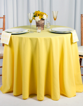 Spun Polyester Tablecloth Linen