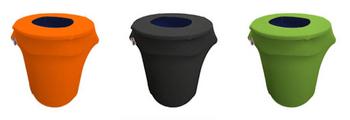 Spandex 32 Gallon Trashcan Cover