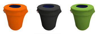 Spandex 32 Gallon Trashcan Cover