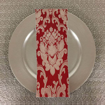 Dozen (12-pack) Beethoven Damask Table Napkins