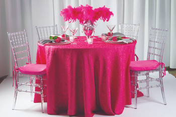 Cabaret Taffeta Tablecloth Linen