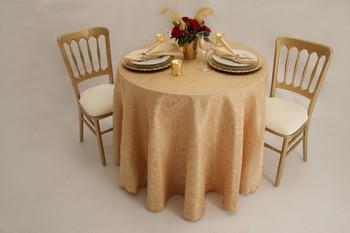 Cabaret Taffeta Tablecloth Linen-Taupe